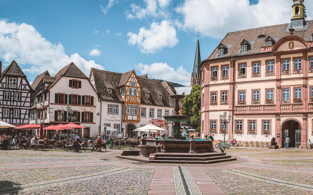Neustadt Weinstraße - Marktplatz