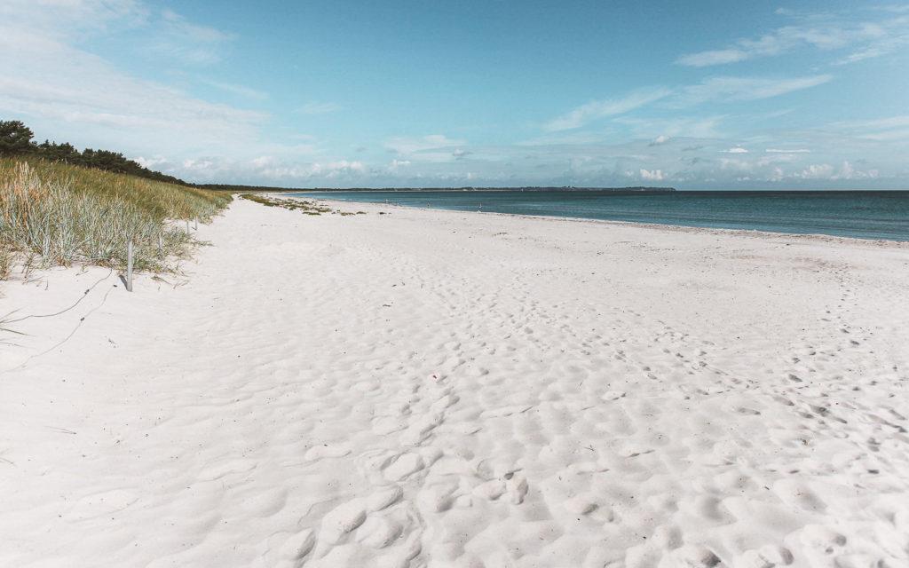 Schöner Ostsee Strand: Schaabe, Insel Rügen