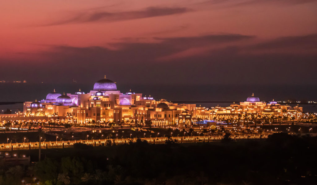 Qasr al Watan Präsidentenpalast in Abu Dhabi