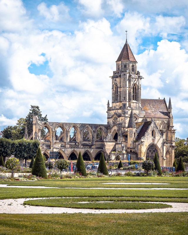 Alte St. Stephens Kirche Caen