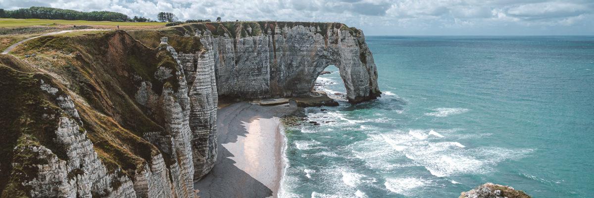Étretat und die Highlights der Alabasterküste (Frankreich)