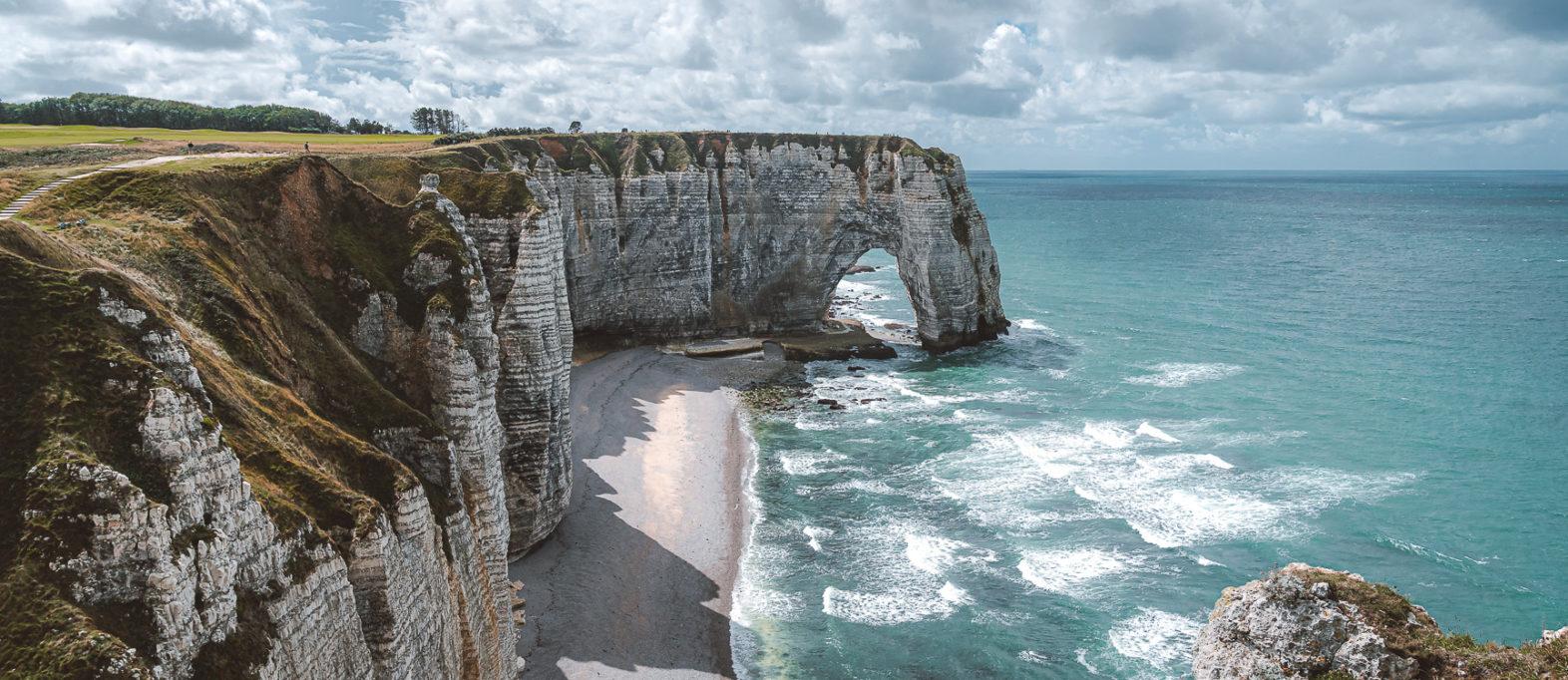 Étretat Alabasterküste Frankreich Highlights