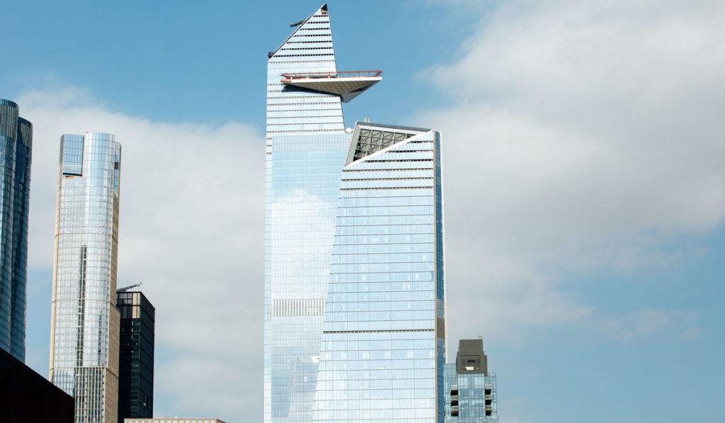 Hudson Yards 30 und 10 mit der Aussichtsplattform The Edge in New York