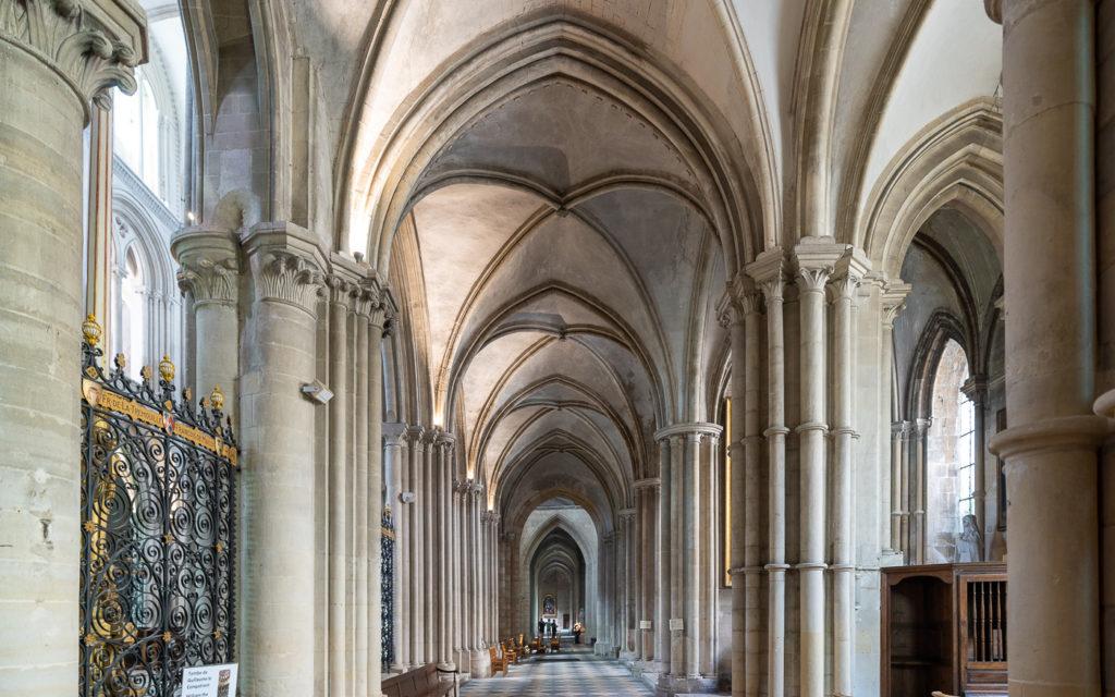 Caen Abteikirche Saint-Étienne Innenraum