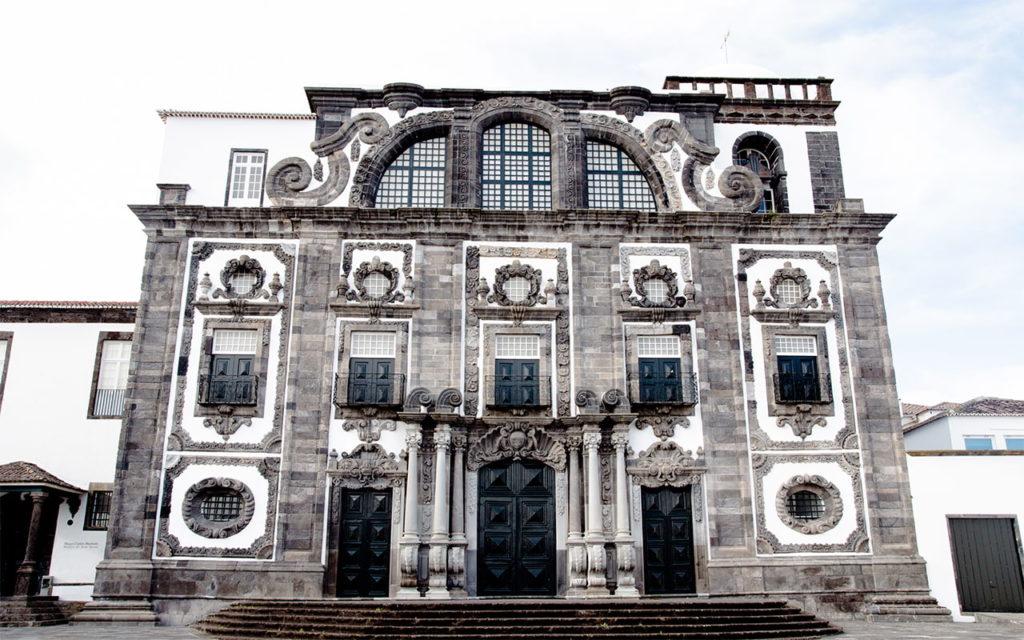 Barockkirche Igreja do Colégio dos Jesuítas, São Miguel Azoren Portugal
