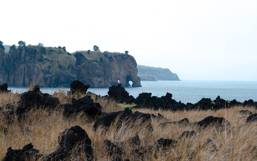 Miradouro da Tromba de Elefante Sao Miguel Azoreninsel Portugal