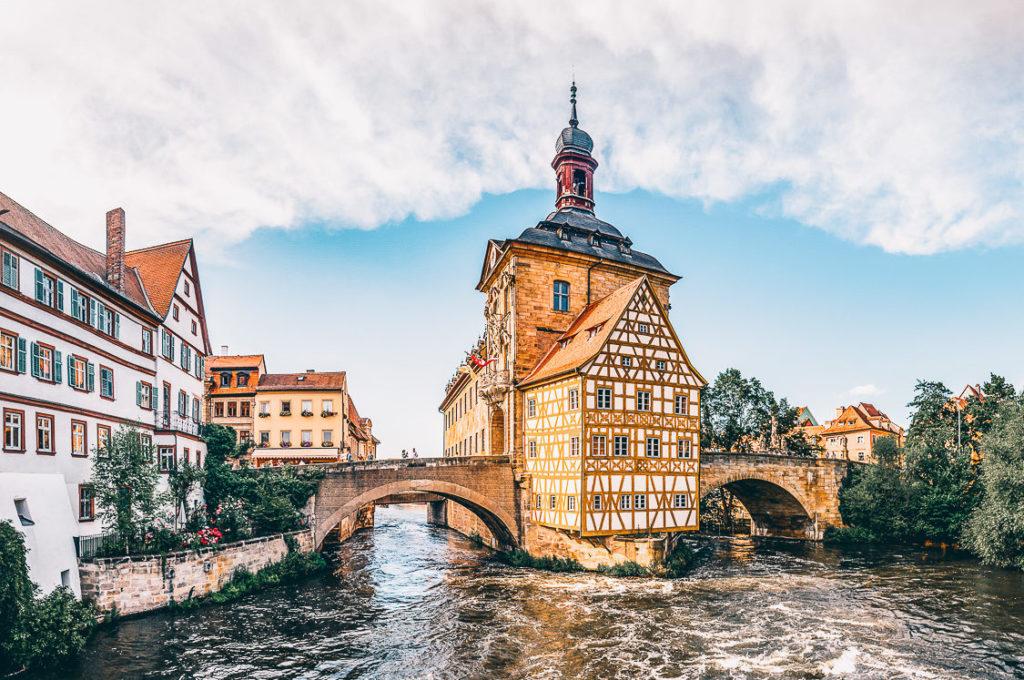 Deutschland Sehenswürdigkeiten Bamberg Altstadt
