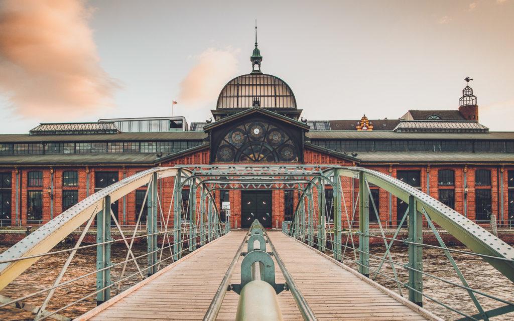 Eingang Fischmarkt Hamburg