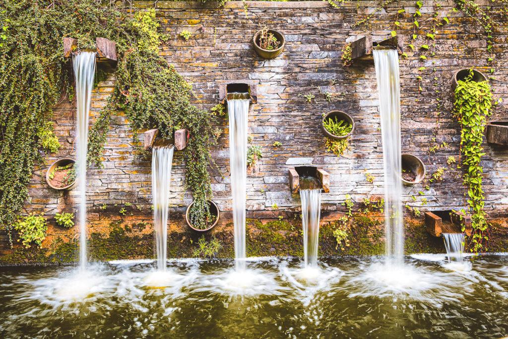 Planten un Blomen Hamburg Brunnen