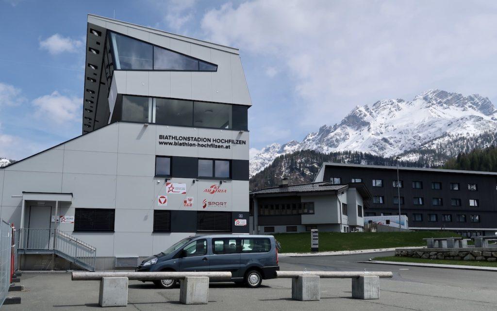 Hochfilzen Biathlonstation Anreise Kroatien