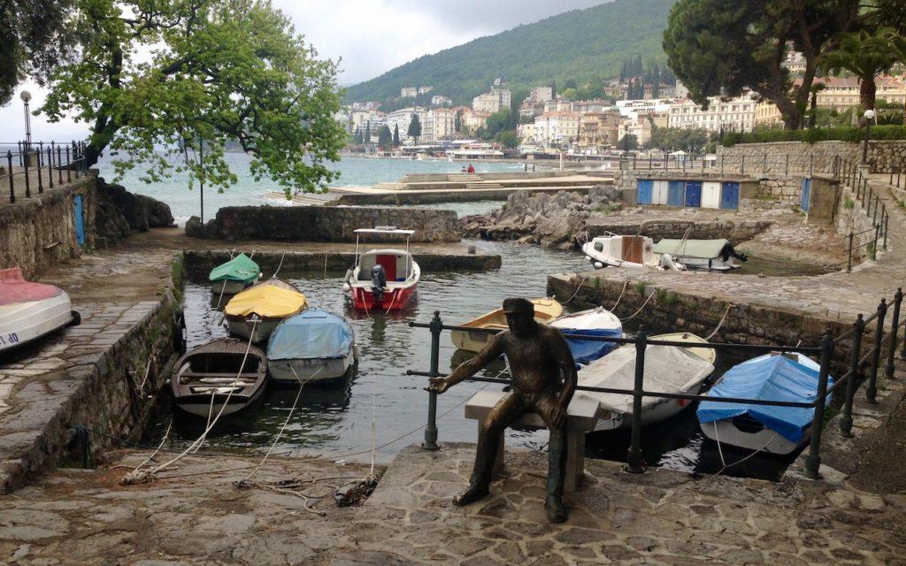 Hafen in Opatija (Kroatien Rundreise)