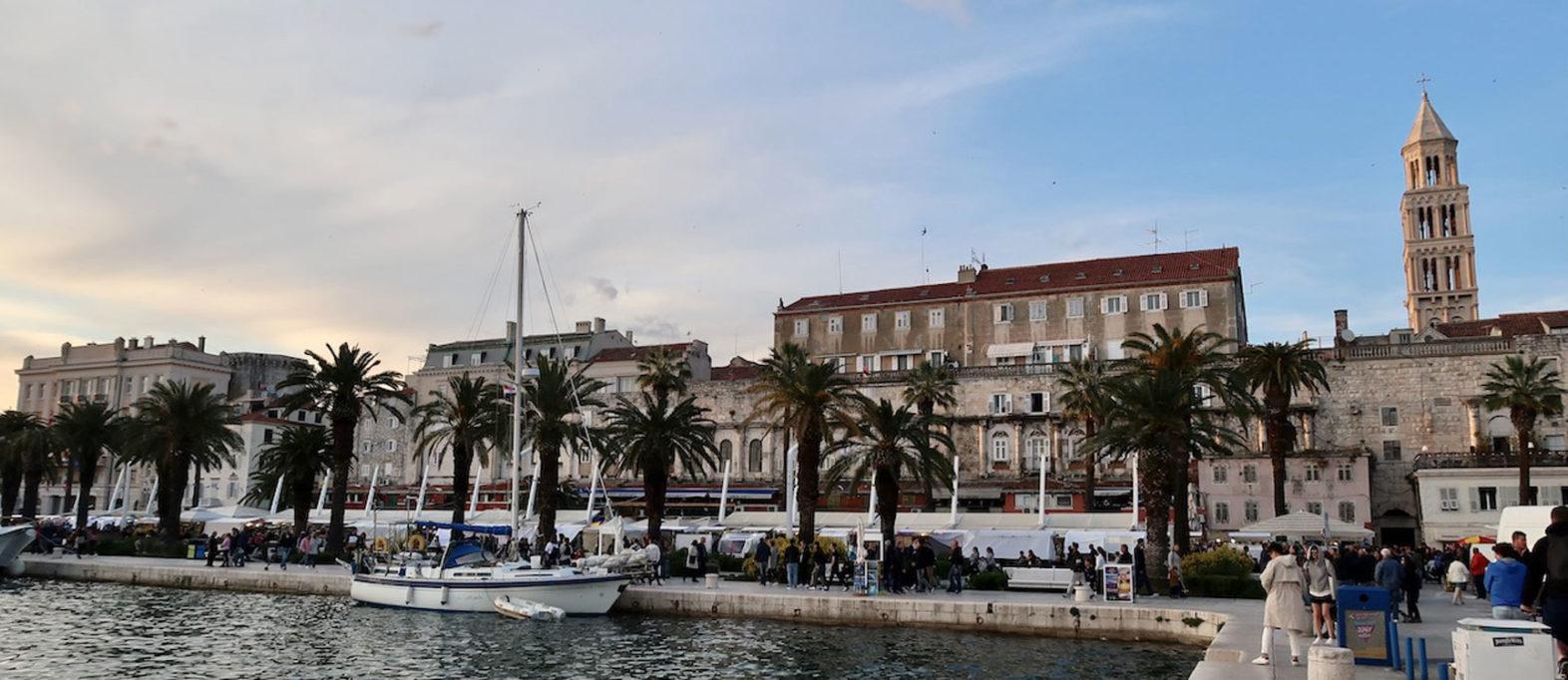 Kroatien Rundreise Split Highlights