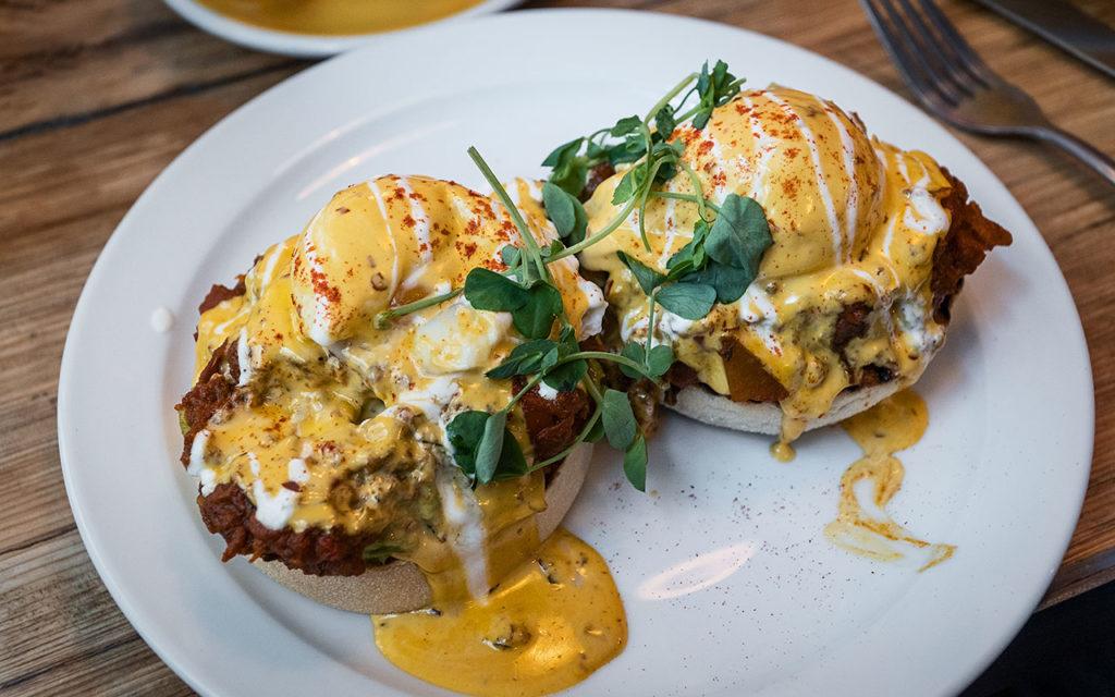 London Essen im Breakfast Club