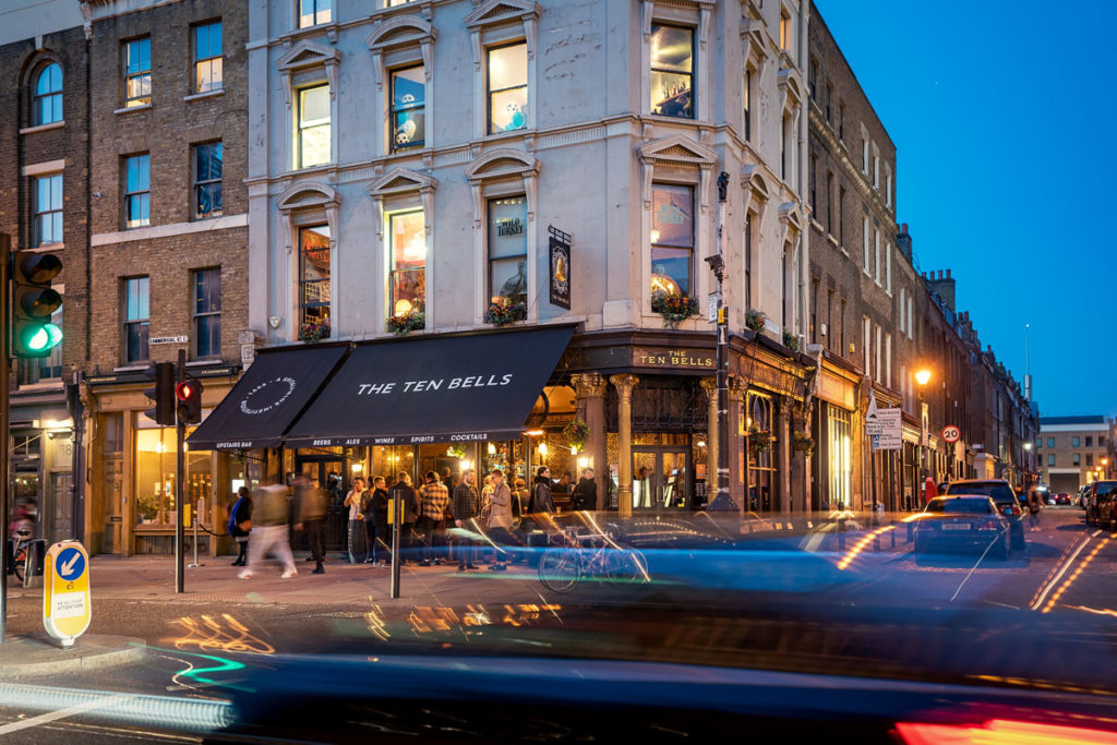 The Ten Bells Pub in London