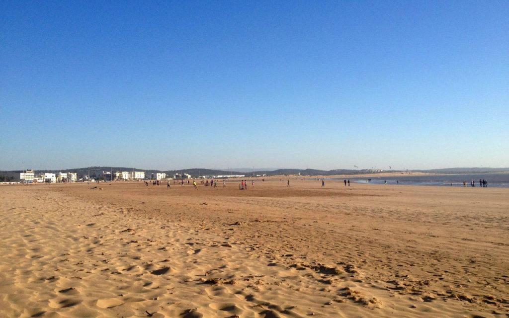 Strand Essaouira Marokko Rundreise