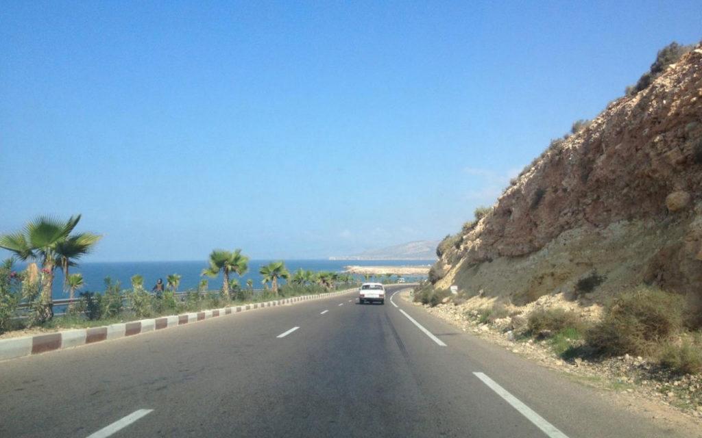 Fahrt von Agadir nach Essaouira Marokko
