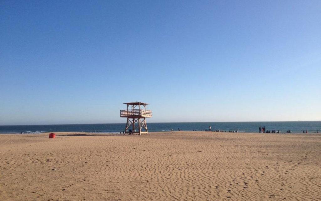 Strand von Agadir, Marokko