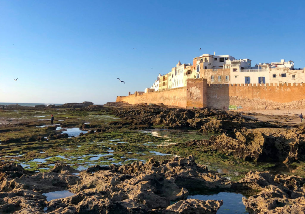 Hafen in Essaouira Marokko Rundreise
