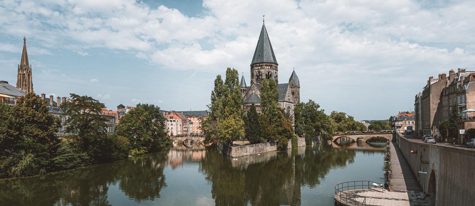 Metz Sehenswürdigkeiten Temple Neuf