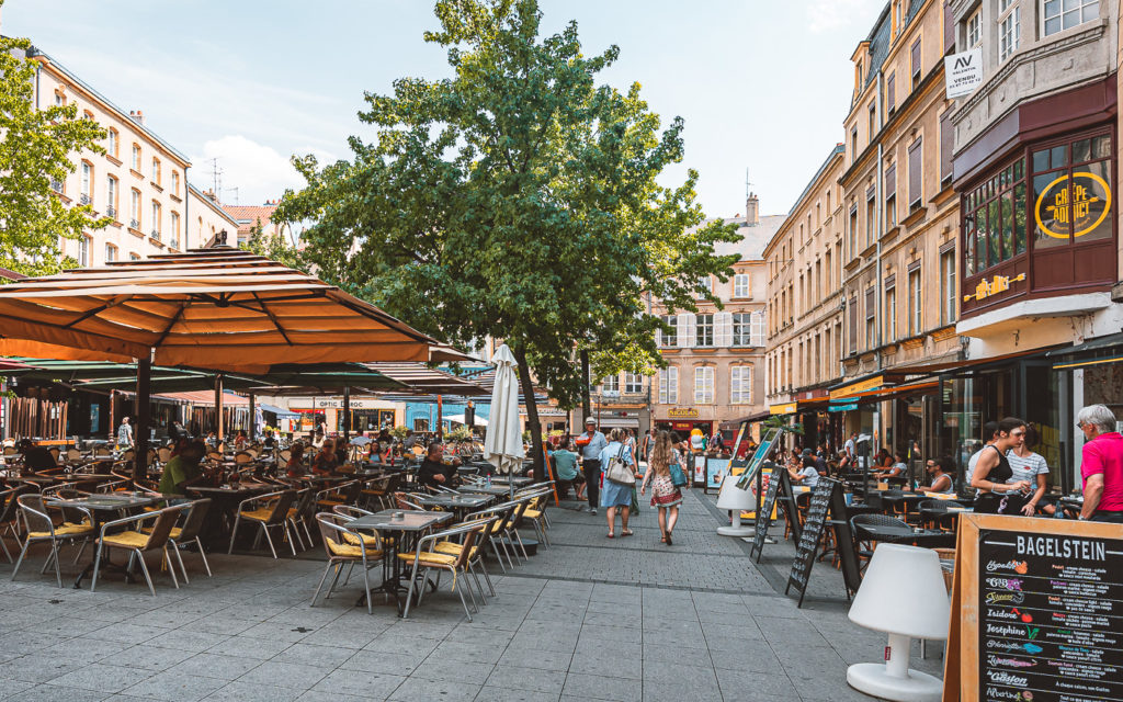 Place Saint-Louis in Metz