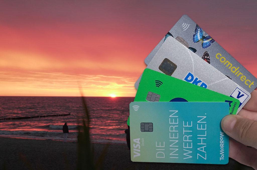 Beste Reise-Kreditkarte kostenlos Ausland