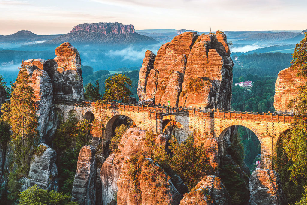 Sächsische Schweiz Sehenswürdigkeiten Bastei