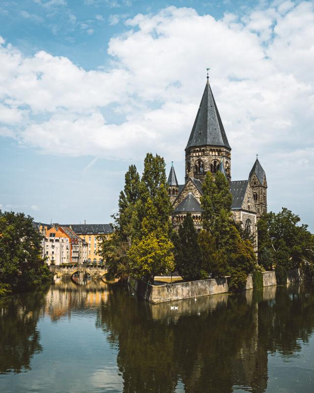Temple Neuf Highlight Metz
