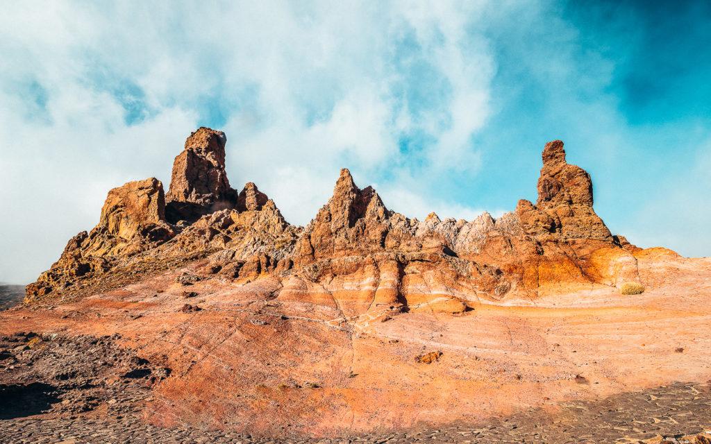 Roques de Garcia Teide Teneriffa