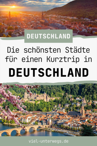 Deutschland schöne Städte