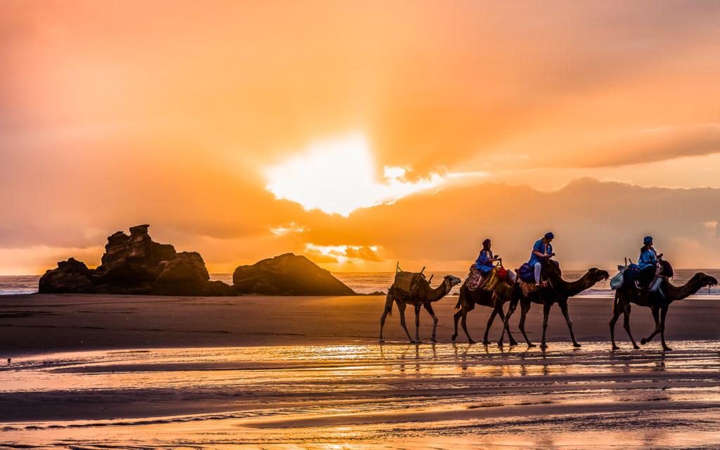 Tagharte Beach bei Essaouira (Marokko)