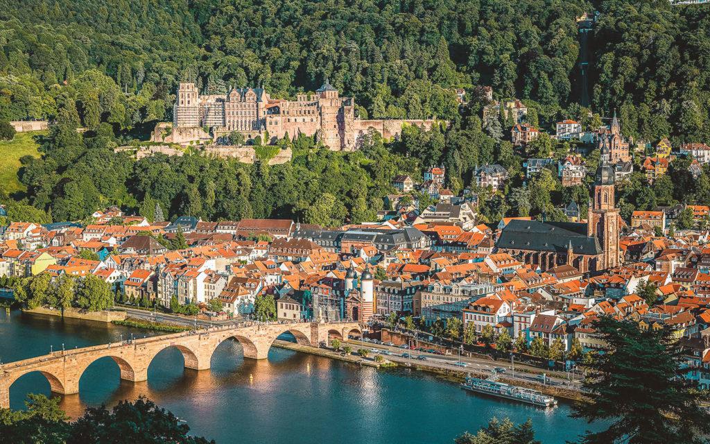 Heidelberger Schloss Wahrzeichen Heidelberg