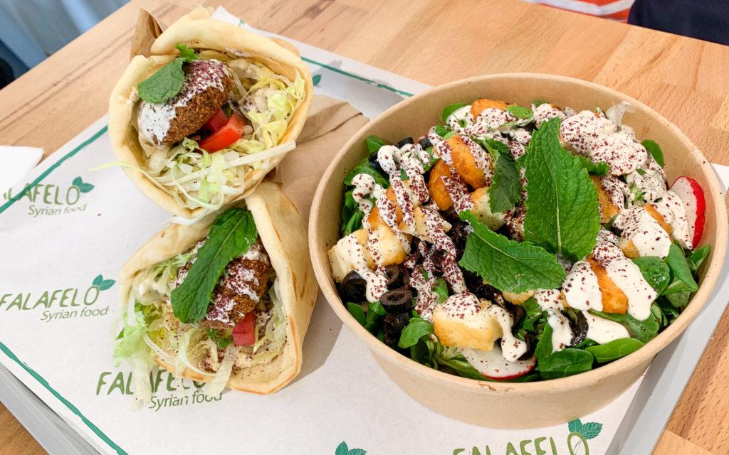 Syrisches Essen im Falafelo in Heilbronn