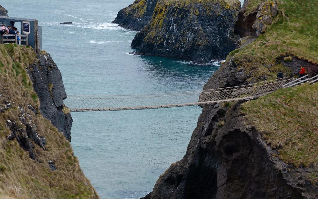 Carrick-A-Rede Seilbrücke Nordirland