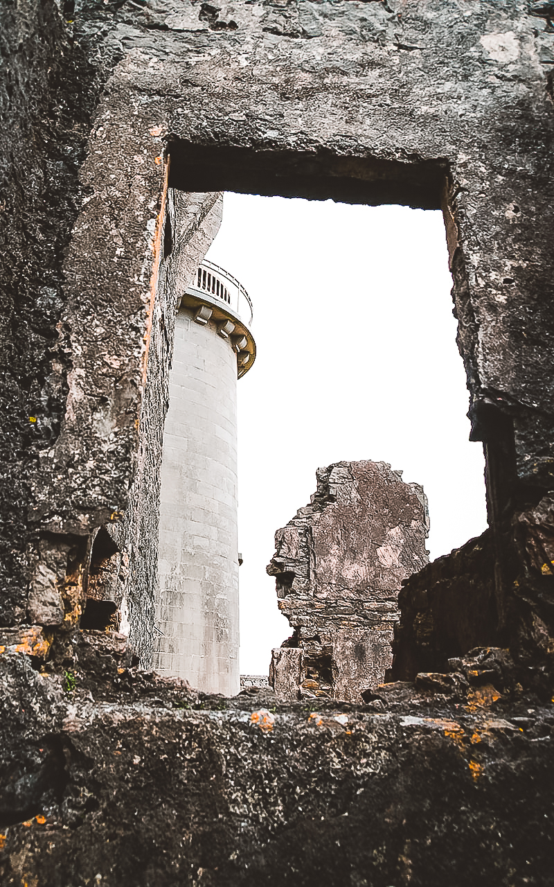 Dún Eochla, verlassene Ruinen Irishmore (Aran Inseln, Irland)