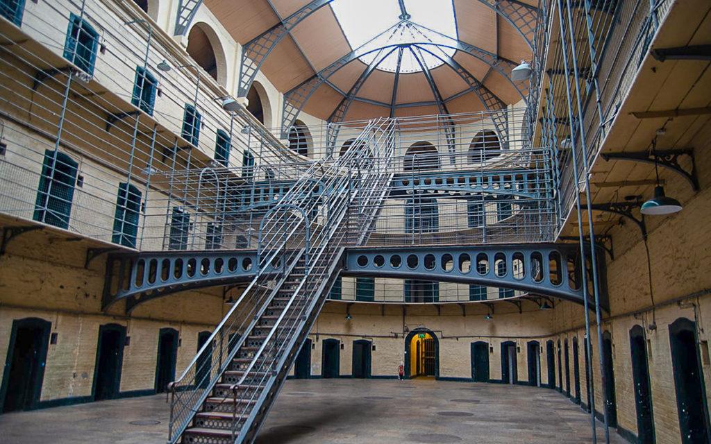 Dublin: Altes Gefängnis Kilmainham Gaol, Sehenswürdigkeit