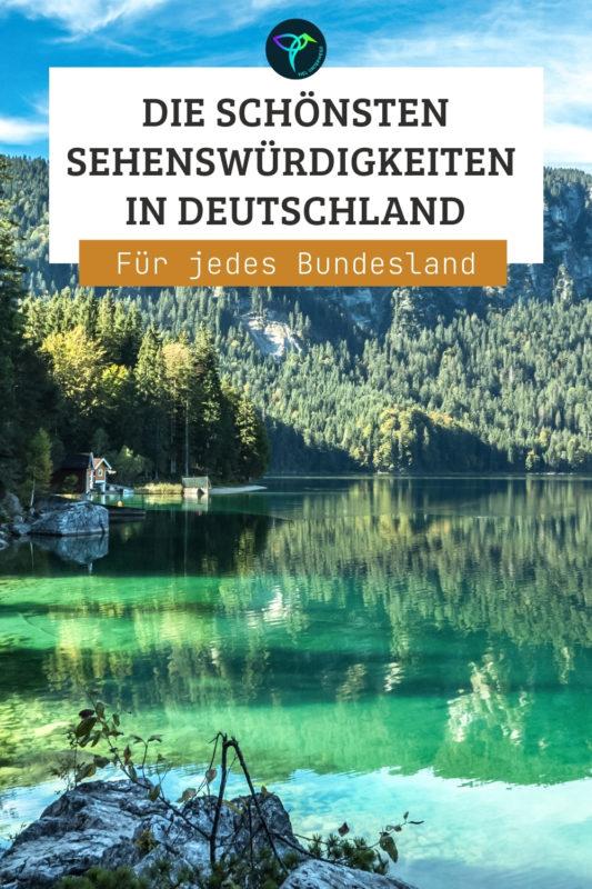 Deutschland Sehenswürdigkeiten und sehenswerte Orte je Bundesland