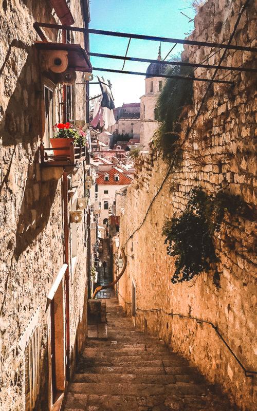 Altstadtgasse Dubrovnik