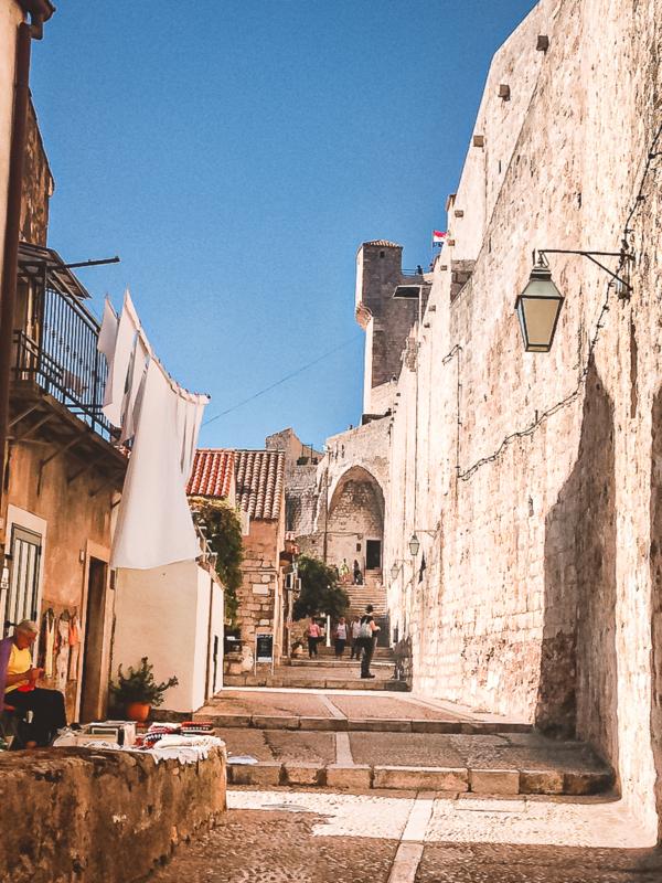 Dubrovnik Stadtmauer Spaziergang