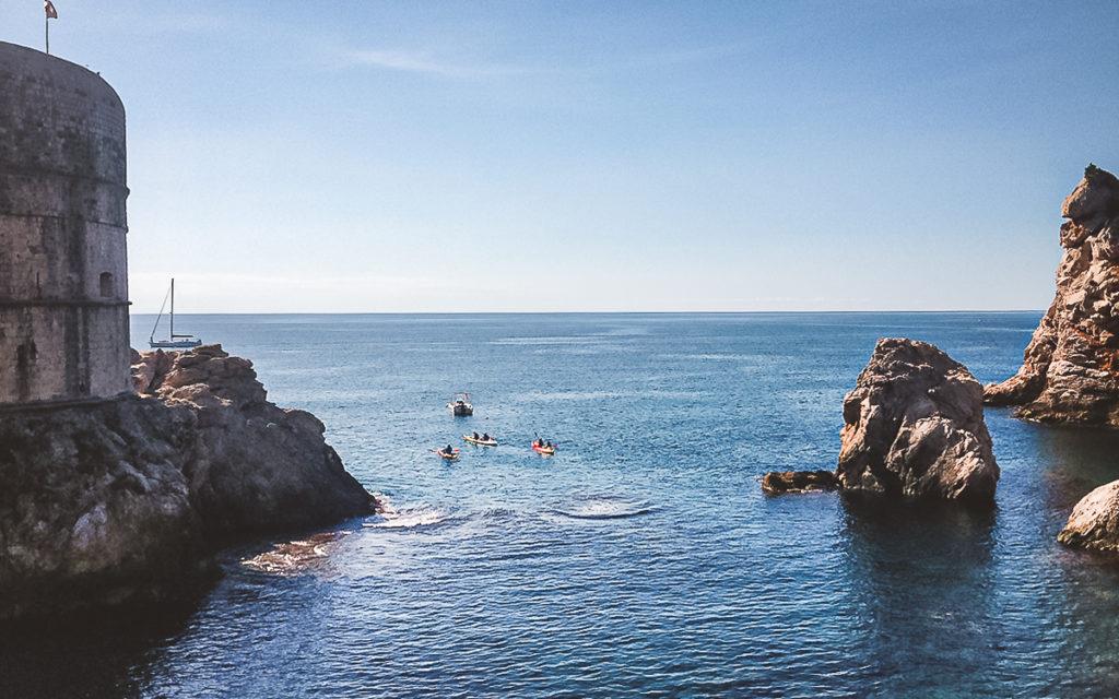 Kayak fahren Dubrovnik