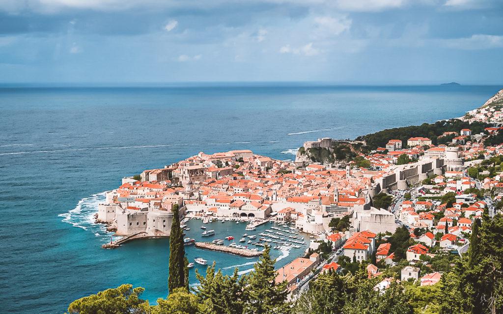 Aussicht Panorama Dubrovnik Sehenswürdigkeiten