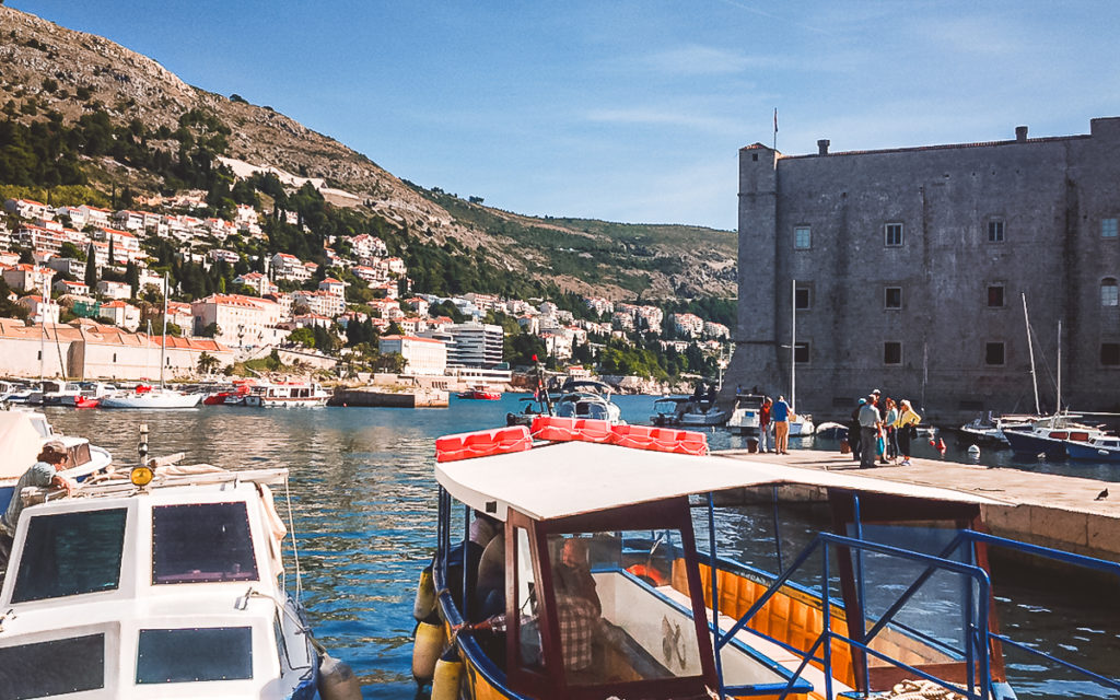Stadthafen Dubrovnik Festung Svetog