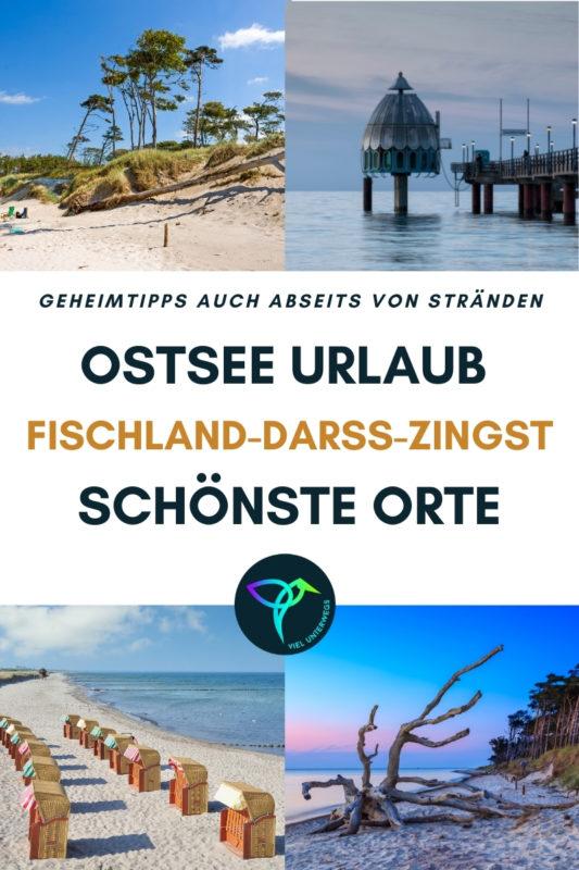 Urlaub an der Ostsee: unsere Tipps für Fischland-Darß-Zingst -