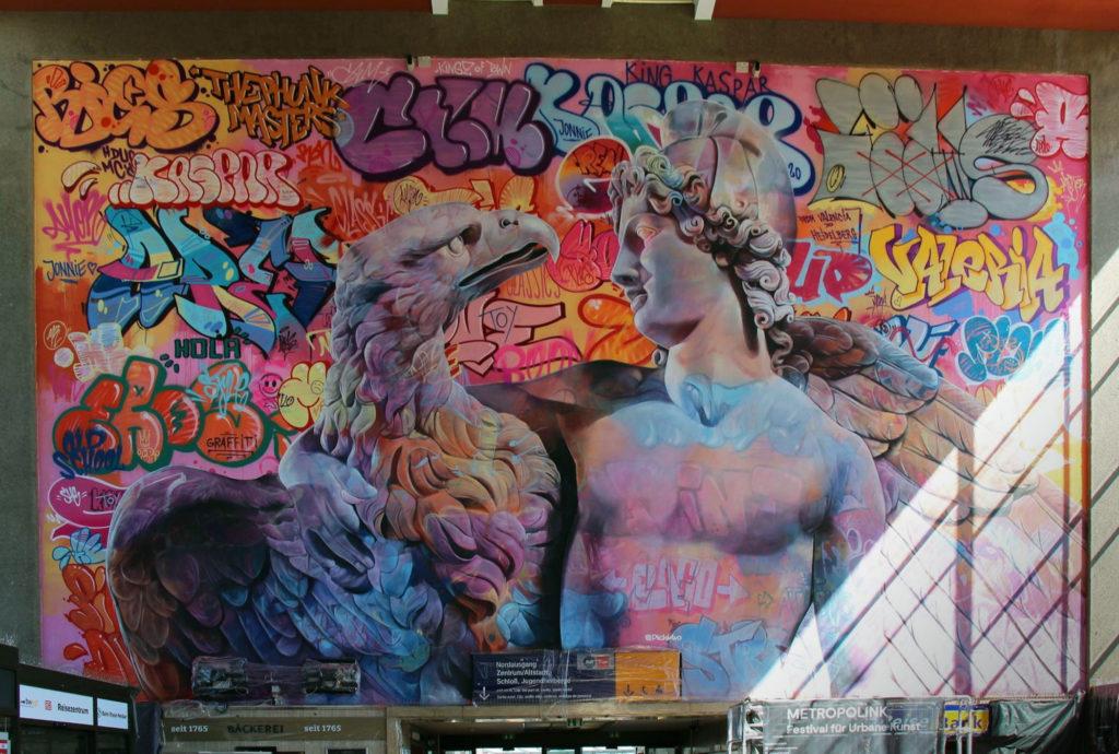 Street Art Heidelberg Bahnhof