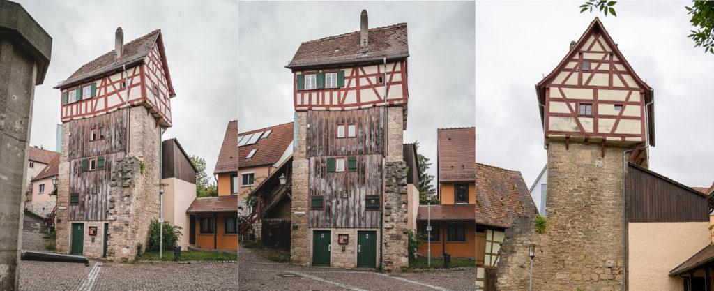 Schlosserturm Creglingen Taubertal