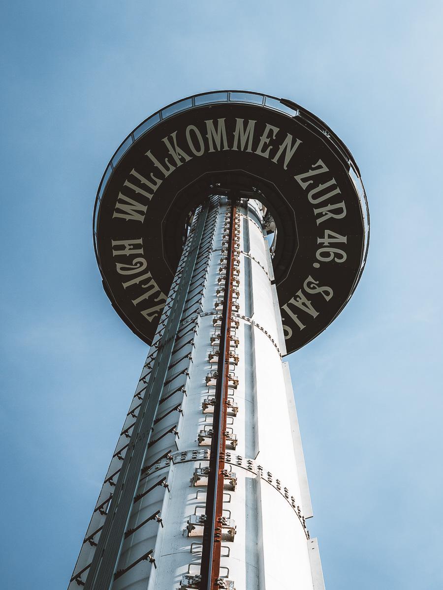 Euro-Tower beste Aussicht Europapark