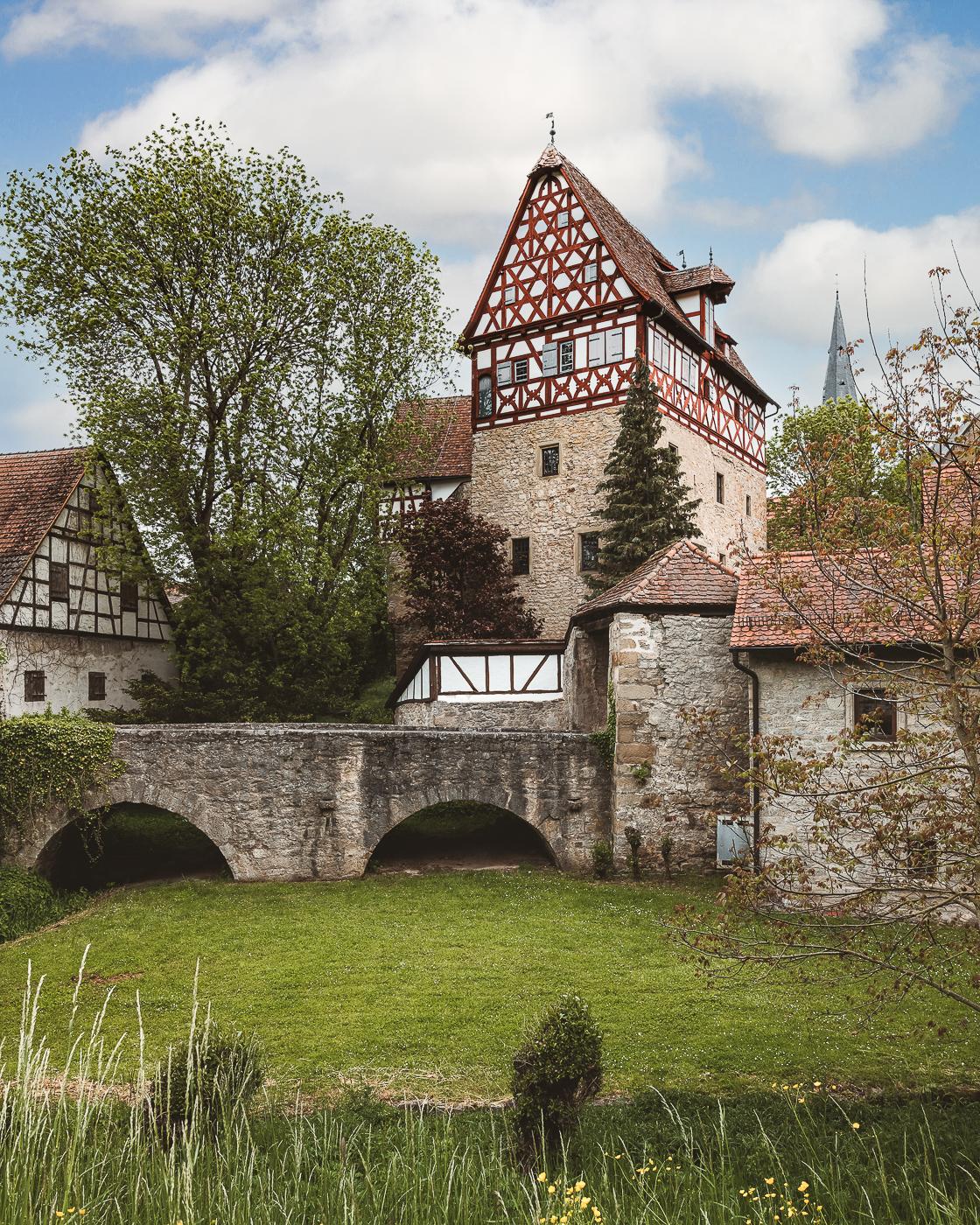 Schloss Laudenbach bei Weikersheim