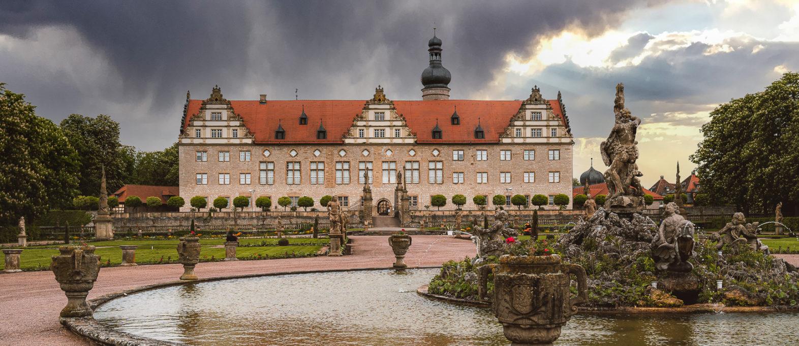 Taubertal Sehenswürdigkeiten Schloss Weikersheim
