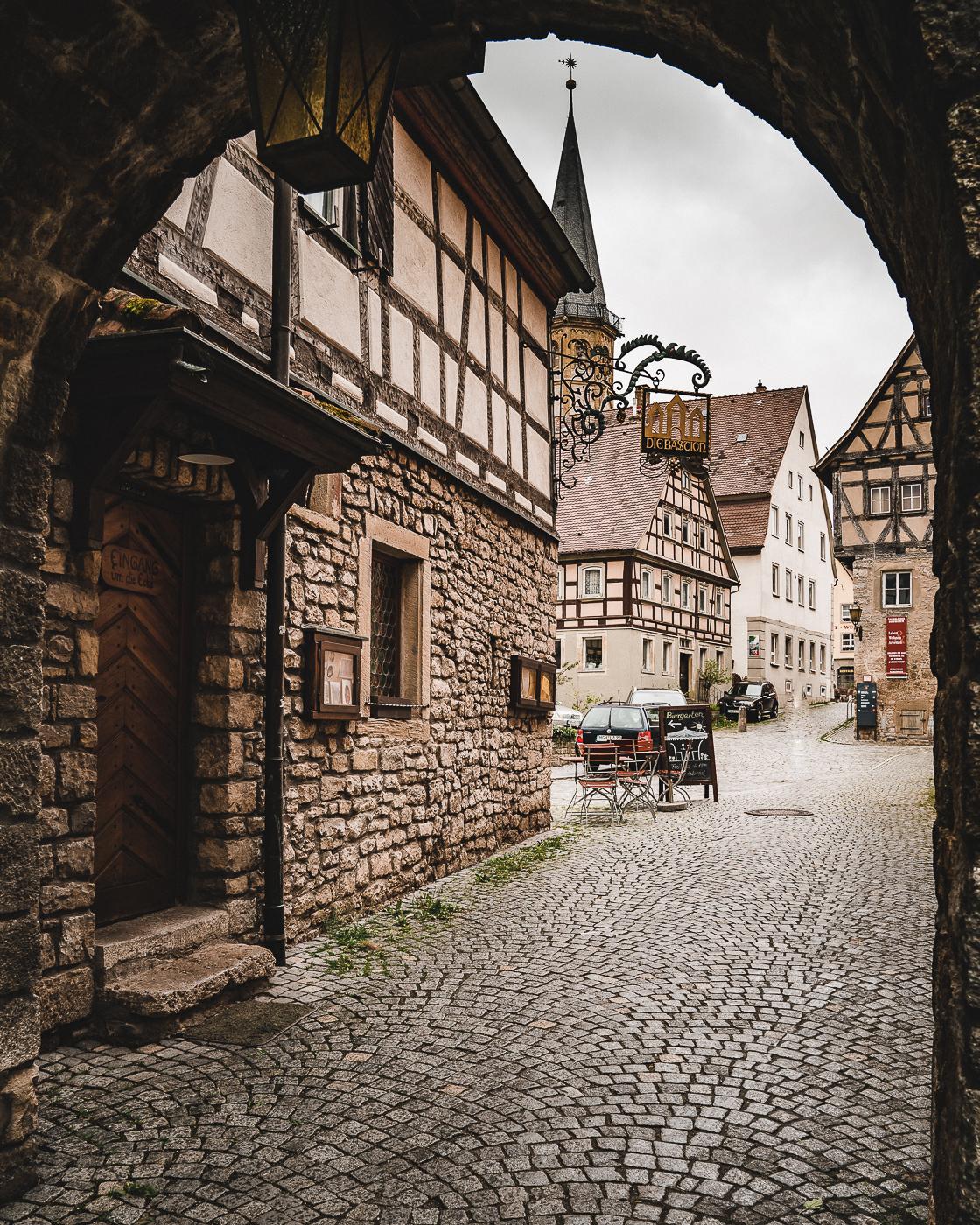 Torbogen in Altstadt Weikersheim