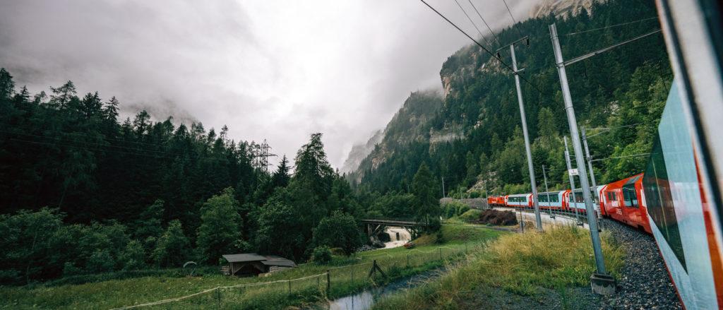 Glacier Express nach Zermatt