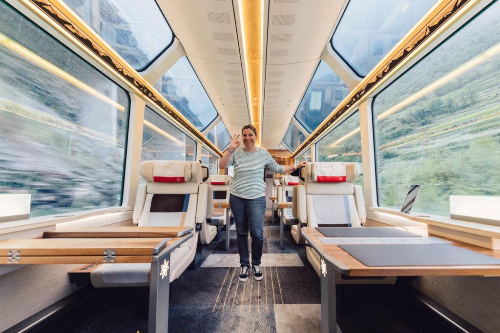 Excellence Class des Glacier Express Schweiz